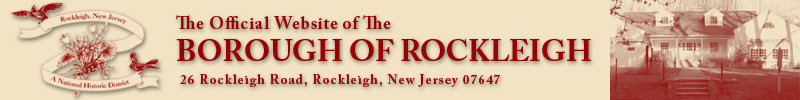 Rockleigh, New  Jersey (Official Website)